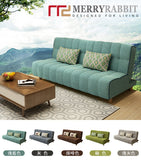 MerryRabbit - 多功能褶疊布藝梳化床MR-607B Multi-functional folding Fabric sofa bed