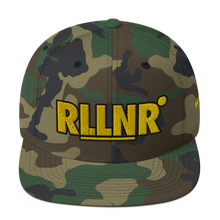 Load image into Gallery viewer, RLLNR Camo Snapback Hat