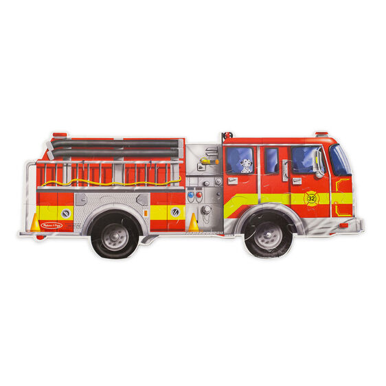 Giant Fire Truck 24 Piece Floor Puzzle