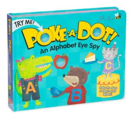 Poke a Dot - An Alphabet Eye Spy Board Book