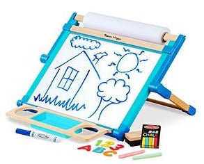 Deluxe Double-Sided Magnetic Tabletop Easel