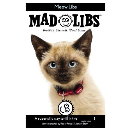 MEOW MAD LIBS CAT