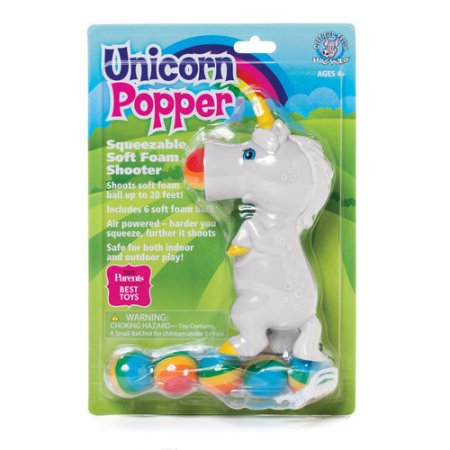 UNICORN POPPER BLUE MANE