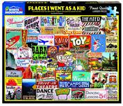 1000 Piece Places I went as a kid Puzzle