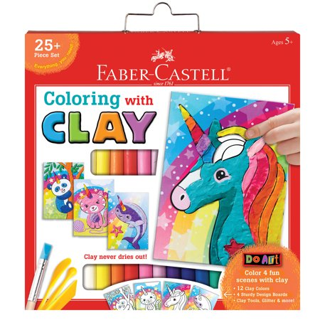 UNICORN COLORING CLAY