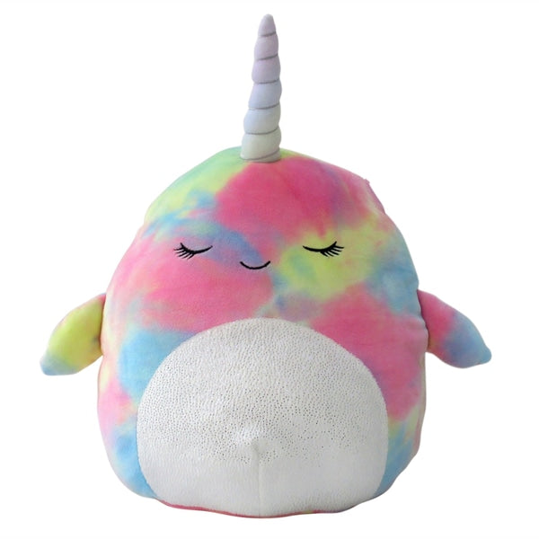 12 in Tie Dye Narwhal