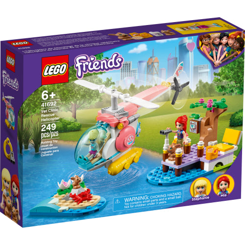 Vet Clinic Rescue Helicopter LEGO Friends 41692