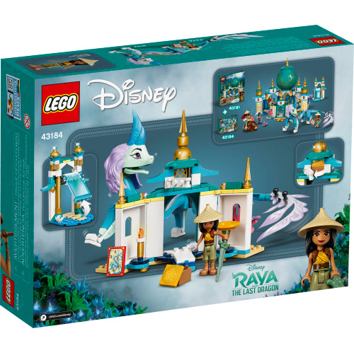 Raya and Sisu Dragon V39 Disney Princess 43184