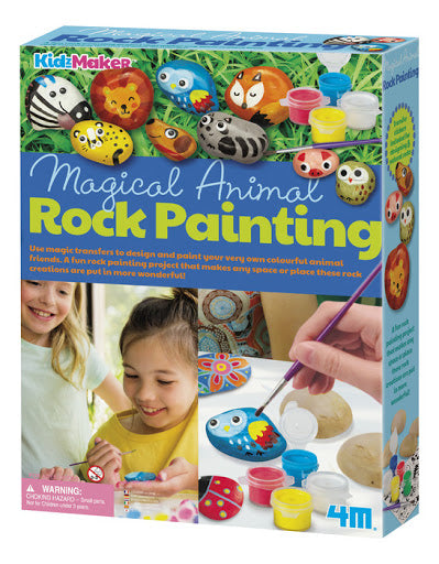 Animal Rock Painting