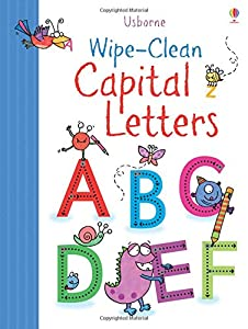 Wipe Clean Capital Letters