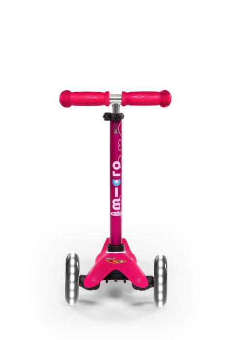 LED Mini Deluxe PINK Kick Scooter