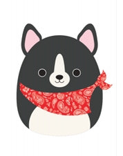 16 inch Red Scarf Dog Squishmallow