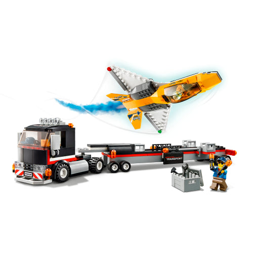 Airshow Jet Transporter City Great Vehicles 60289