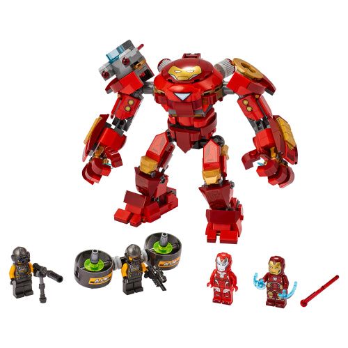 Iron Man Hulkbuster versus AIM