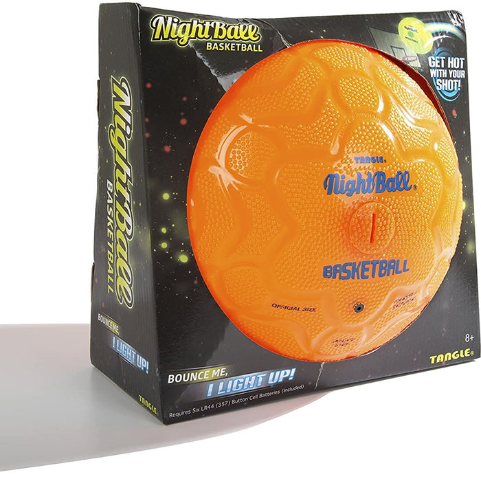 Tangle Nightball Basketball Orange LED Light