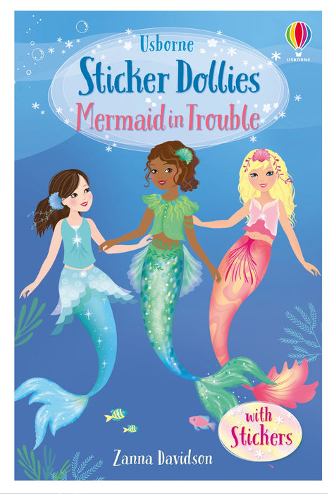 Mermaid In Trouble Sticker Dollies