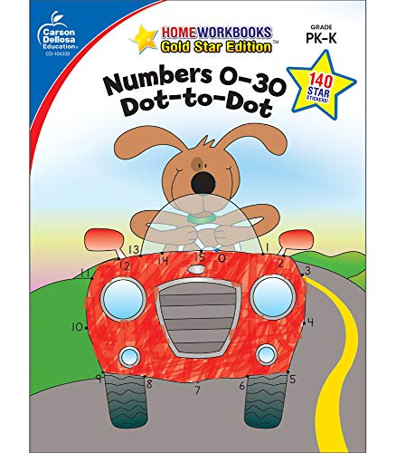 Numbers 0-30 Dot to Dot