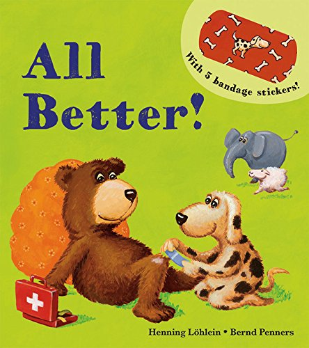 All Better! Bandaid Book