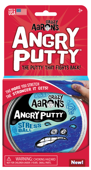 Stress Ball Angry Thinking Putty