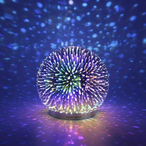 Infinity Mirror Ball Dome LED