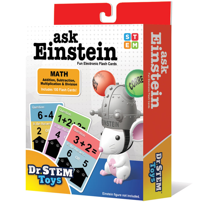 Ask Einstein Math Flash Cards