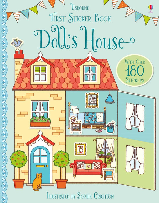 Doll House Sticker Book