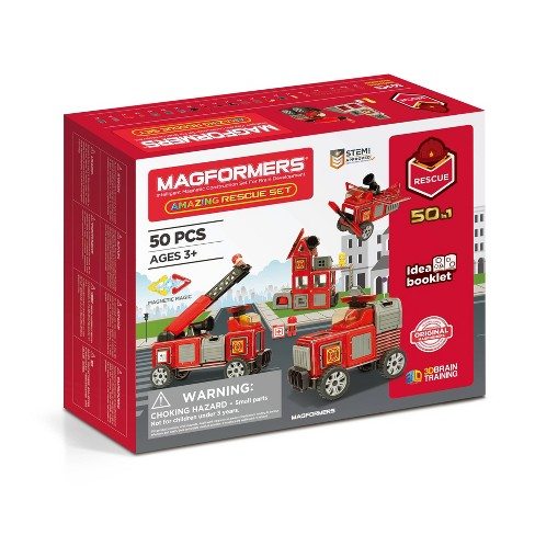 Amazing Rescue Magformer 50 Piece Set