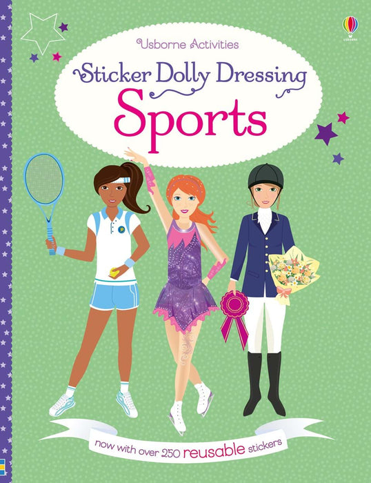 Sports Dolly Sticker Book