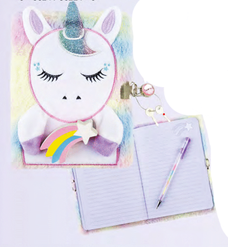 Pastel Unicorn Journal