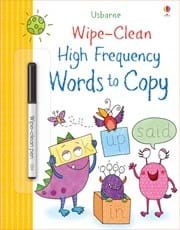 Wipe Clean Common Words to Copy