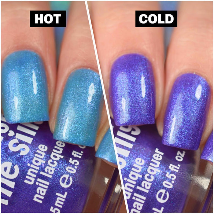 Thermal Blurple Surprise Nail Polish