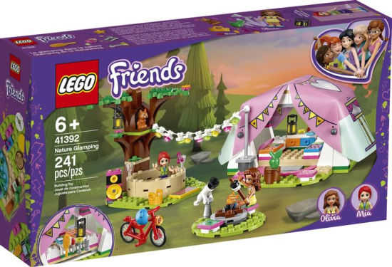 NATURE GLAMPING FRIENDS LEGO