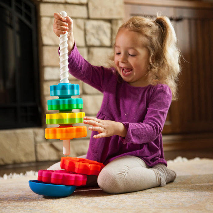 SpinAgain Stacking Toy