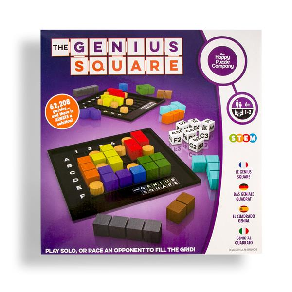 The Genius Square Level 1 Game