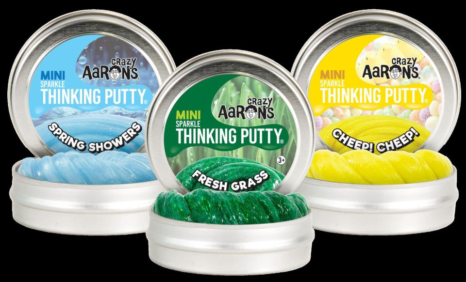 Easter Small Putty Tin