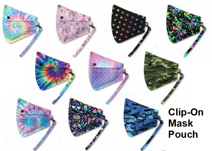 Clip-On Mask Pouch