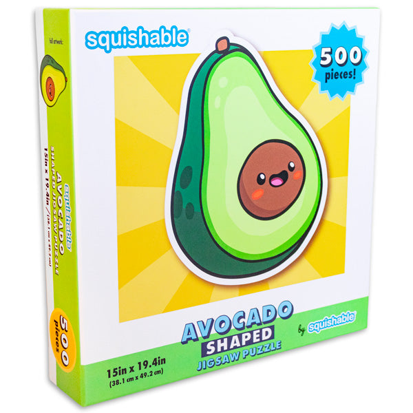 Avocado Shaped Puzzle