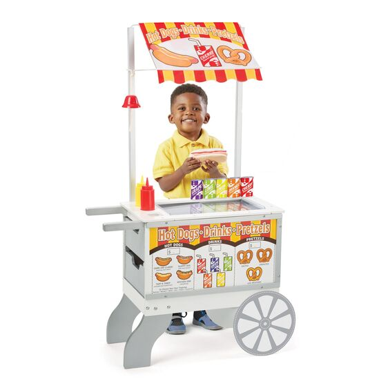 Snacks and Sweets Food Cart Playset