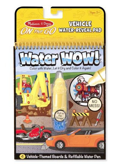 Vehicles Water Wow Activity Pad