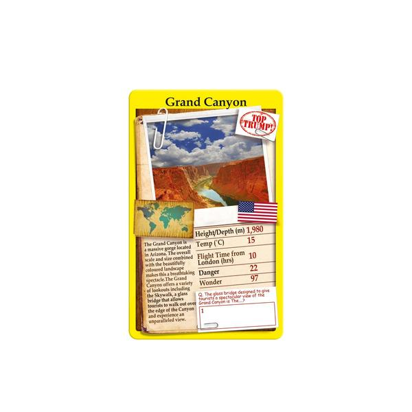 Wonders of the World Top Trumps