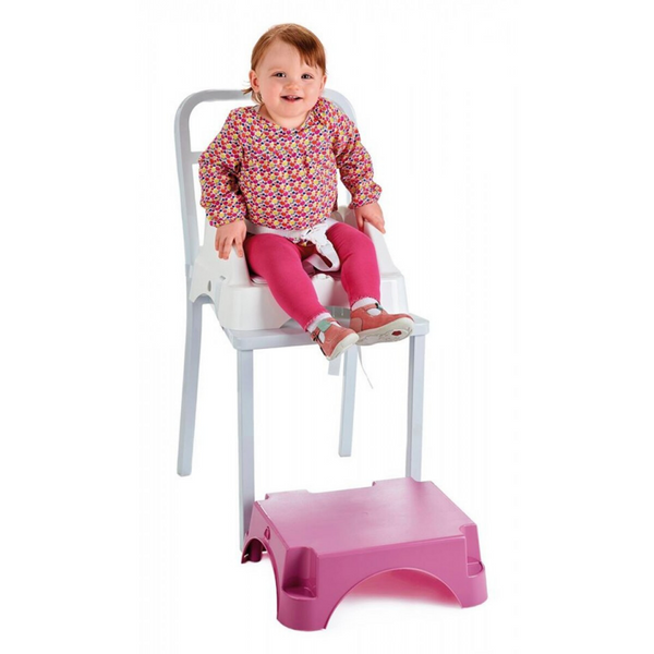 EDGAR BOOSTER SEAT WITH STEP