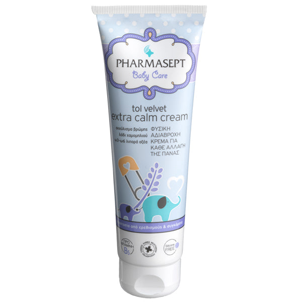 Κρέμα για την αλλαγή Πάνας - Pharmasept Baby Care Tol Velvet Extra Calm Cream 150 ml