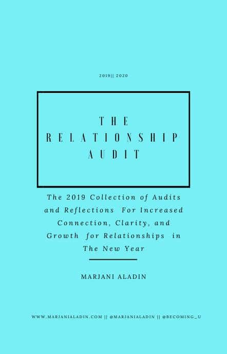The Relationship Audit
