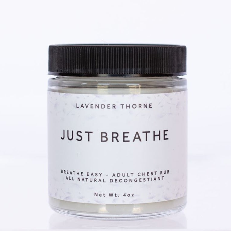 JUST BREATHE (Adult Chest Rub & Decongestant)