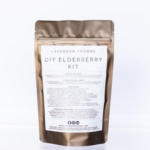 ELDERBERRY SYRUP (DIY KIT)