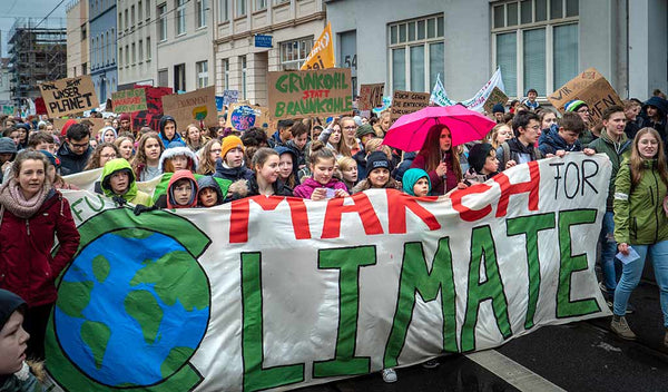 As climate change becomes more dire, are activitists like Greta Thunberg capable of saving the earth? Or is this the end of the world as we know it?