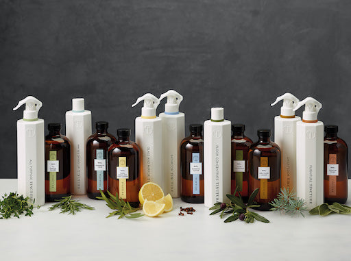 The TINCTURE range of eco-friendly cleaning products