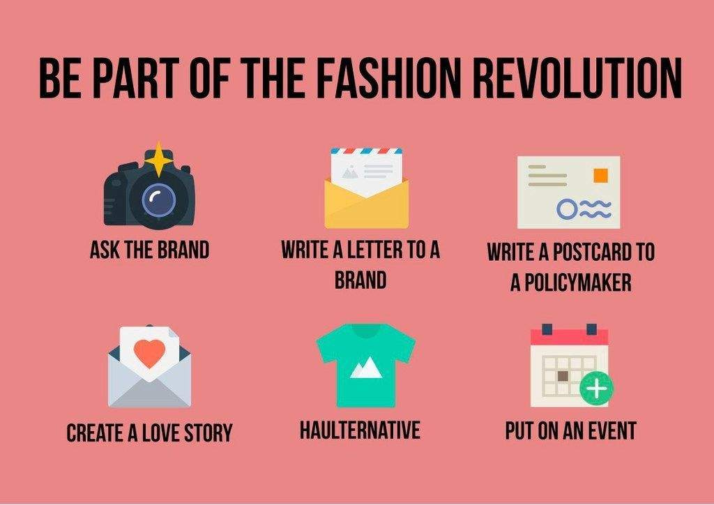 Be a Part Of The Fashion Revolution