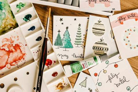 Upcycle Christmas cards