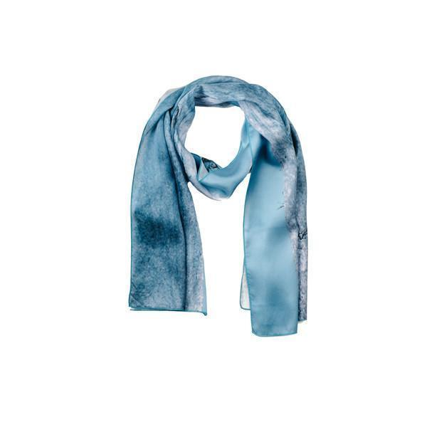 100% Silk Scarf: Selma-Younited Cultures-MAMOQ